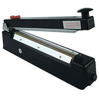 Pac-Seal Impulse Heat Sealer 400mm With Cutter