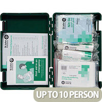 Fist Aid Standard Workplace Kit Small Up to 10 Person Bs-8599-1