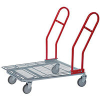 Nesting Wire Cash And Carry Trolley