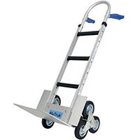 Aluminium Stairclimbing Handtruck - Capacity - 300kg on flat ground, 180kg on stairs
