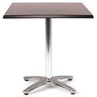 Spectrum Square Table 700X700mm Black