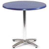 Spectrum Circular Table 700mm Dia Tilt Top Dark Blue