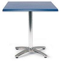 Spectrum Square Table 700X700mm Tilt Top Dark Blue
