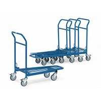 Warehouse Trolley With Single Platform