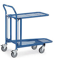 Warehouse Trolley With Double Platform