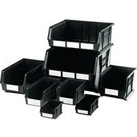 Bin Storage Linbin Black Lxwxh mm 375X420X180