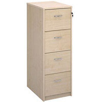 Filing Cabinet 4 Drawer Maple Classic Furniture