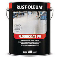 Floorcoat Pu Polyurethane Floor Paint Steel Grey Gloss 2.5L