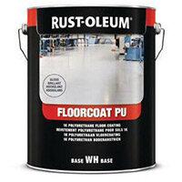 Floorcoat Pu Polyurethane Floor Paint White Gloss 2.5L