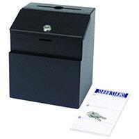 Steel Suggestion Box Black (Bl)