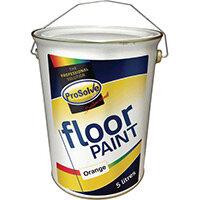 Floor Paint 5 Ltr Orange
