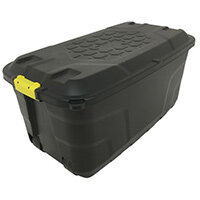 Storage Trunk On Wheels 75L  Heavy Duty Storage Containers