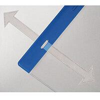 Tie-On Weather Resitant Pocket A4 Vertical Pk 10