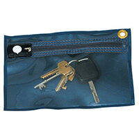 Key Wallet Blue Back And Clear Front