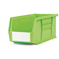 Bin-Storage Neon Linbin Lime Pack Of 10 Lxwxhmm:280X140X130