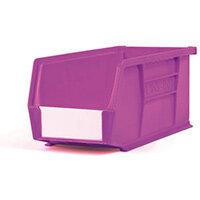 Bin-Storage Neon Linbin Purple Pack Of 10 Lxwxhmm:280X140X130