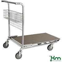 Stock Trolley With Panel Platform LxWxH 1170x700x955mm. Capacity 200Kg