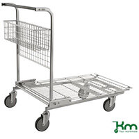 Stock Trolley With Wire Platform LxWxH 1170x700x955mm. Capacity 200Kg