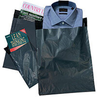 Polythene Grey Mailing Bags 850x1050mm With 50mm Flap 50Mu,