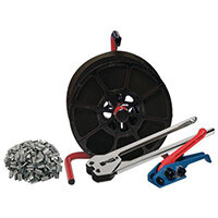 Kitstart Strapping Kit Tt45Blk Strap Psd4 Static Dispenser Tst30 Tensioner Sgp12