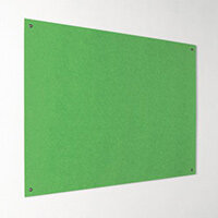 Eco-Colour Frameless Resist-A-Flame Board 900x1200mm Apple Green
