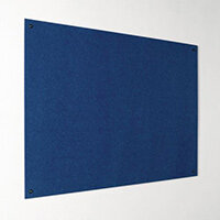Eco-Colour Frameless Resist-A-Flame Board 1200x2400mm Blue