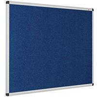 Eco-Colour Aluminium Framed Resist-A-Flame Board 600x900mm Blue