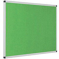 Eco-Colour Aluminium Framed Resist-A-Flame Board 600x900mm Apple Green