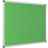 Eco-Colour Aluminium Framed Resist-A-Flame Board 900x1200mm Apple Green
