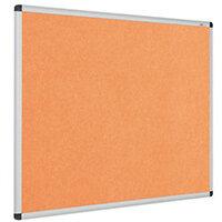 Eco-Colour Aluminium Framed Resist-A-Flame Board 900x1200mm Orange