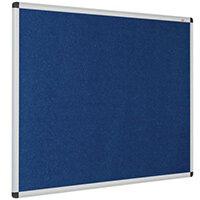 Eco-Colour Aluminium Framed Resist-A-Flame Board 1200x2400mm Blue