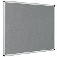 Eco-Colour Aluminium Framed Resist-A-Flame Board 1200x2400mm Grey