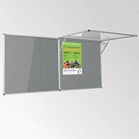 Eco-Colour Corridor Resist-A-Flame Tamperproof Board 900x1800mm Grey