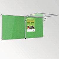 Eco-Colour Corridor Resist-A-Flame Tamperproof Board 1200x2400mm Apple Green
