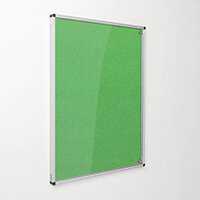 Eco-Colour Apple Green Tamperproof Resist-A-Flame Board Size HxW: 900x600mm