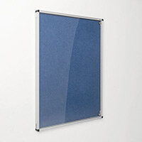 Eco-Colour Blue Tamperproof Resist-A-Flame Board Size HxW: 1200x900mm