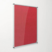 Eco-Colour Red Tamperproof Resist-A-Flame Board Size HxW: 1200x900mm