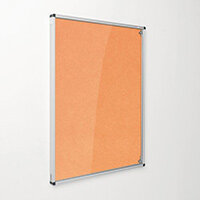 Eco-Colour Orange Tamperproof Resist-A-Flame Board Size HxW: 1200x900mm