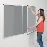 Eco-Colour Grey Tamperproof Resist-A-Flame Board Size HxW: 1200x1800mm