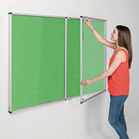 Eco-Colour Apple Green Tamperproof Resist-A-Flame Board Size HxW: 1200x1800mm