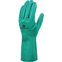 Nitrile Flock Lined Chemical Glove 33Cm Size 10