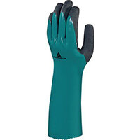 Glove In Nitrile On Polyamide Lining With Foam Nirtile Coating 35Cm Size 8