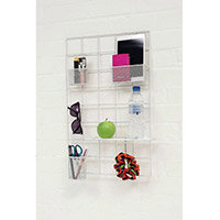 Space Saver Wall/Partition Storage Kit Small