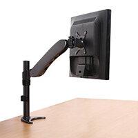 Full Motion Single Arm Screen Desk Mount