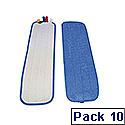 Scott Young Rapid Mop Microfibre Flat Mop Pad Pack 10