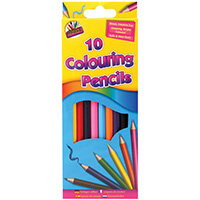Artbox 10 Full Size Colour Pencils Pack of 12 5120