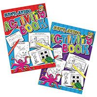 Tallon Super Jumbo Activity Book Pack of 6 4052