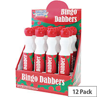 Large Red Bingo Dotter Pen Pack of 12 1161/48