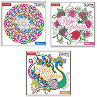 Tallon Adult Colouring Book Series 2 Pack of 12 6846