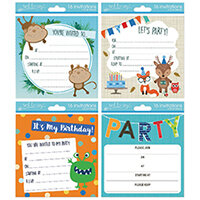 Tallon Boy Designs Invitation Cards Pack of 192 4399